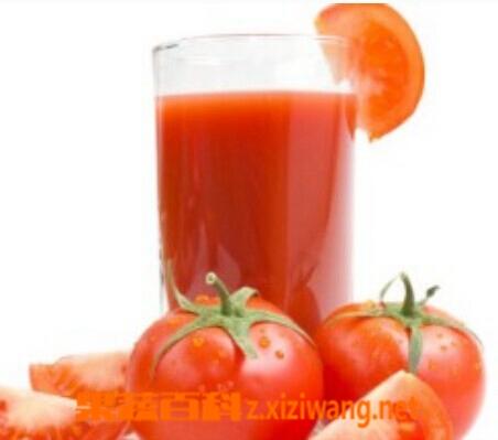 果蔬百科胡萝卜西红柿汁